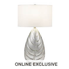 Catalina Lighting 32'' Palm Leaf Table Lamp