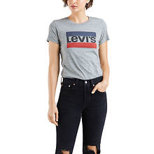 Levi's Women's Perfect Graphic Tee Sportswear Logo