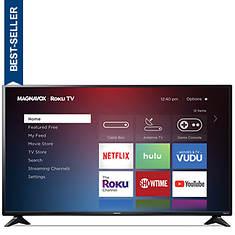"Magnavox 50"" LED Roku Smart TV"
