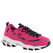 Skechers Sport D'Lites Fancy Leopard (Women's)