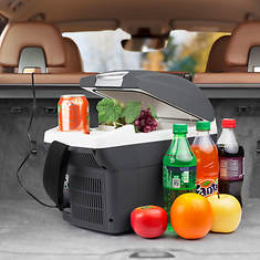 6-Quart 12V Car Travel Cooler/Warmer