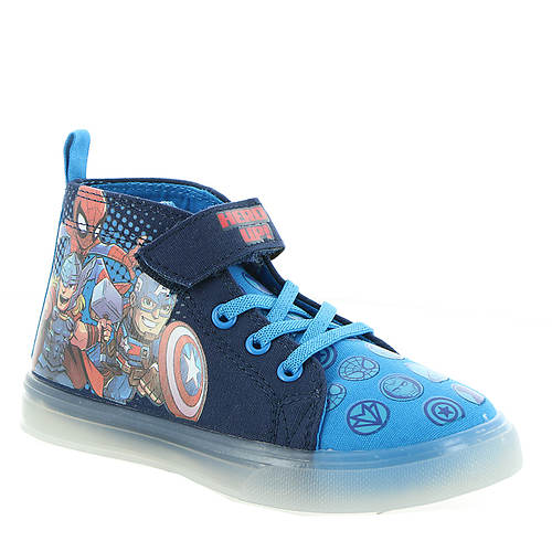 Marvel Avengers Lighted Canvas Hi-Top AVF705 (Boys' Toddler)