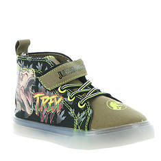 Universal Studios Jurassic Lighted Canvas Hi-Top JPF700 (Boys' Toddler)