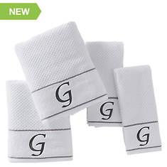 Monogram 4-Piece Towel Set