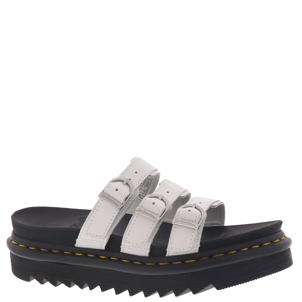 *PU-coated leather upper with a matte finish *Slip-on style with 3 adjustable buckled straps for a secure fit *Lightly cushioned footbed *Durabled lugged outsole *2\\\