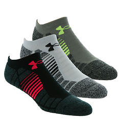 Under Armour Elevated Performance No Show 3-Pack Socks