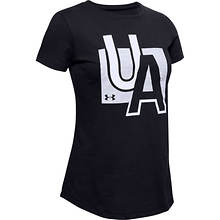 Under Armour Girls' Live Graphic UA SS T Shirt