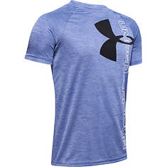 Under Armour Boys' Tech Split Logo Hybrid