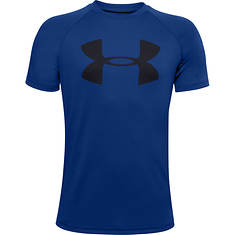 Under Armour Boys' Tech Big Logo SS