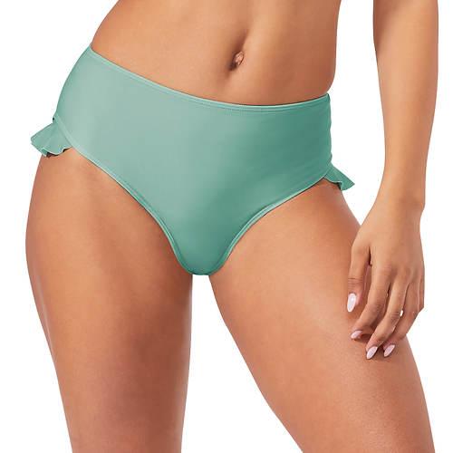 Asymmetric Ruffle Bikini Bottom
