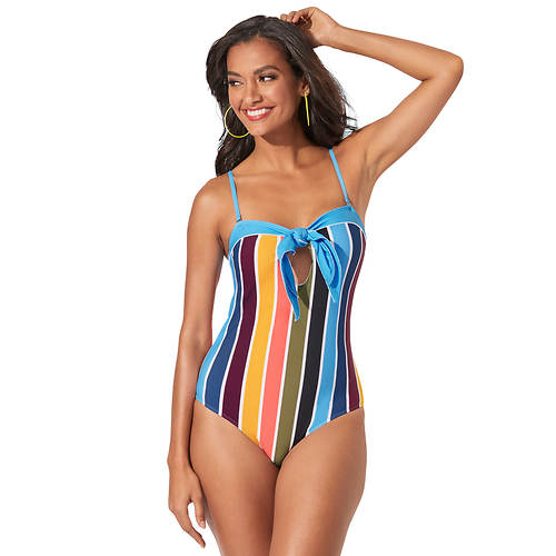 Strapless Knot Swimsuit