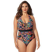 Strappy Cutout One-Piece Swimsuit