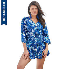 Smocked Dress Cover-Up