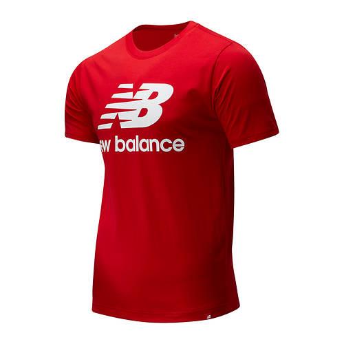 New Balance Men's Essentials Stacked Logo Tee