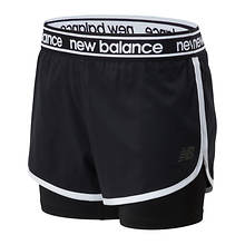 New Balance Women's Relentless 2in1 Short