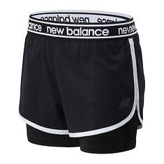 New Balance Women's Relentless 2in1 Short