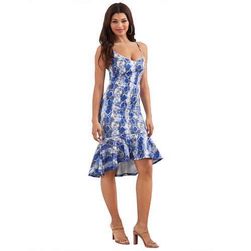 Ruffle-Hem Dress