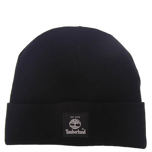 Timberland Men's Short Watch Cap w/Woven Label