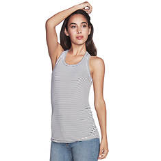 Skechers Women's Singlet Striped Knit Tank