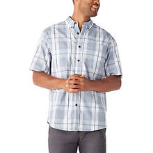 Dickies Men's Icon Relaxed Fit Flex Plaid Shirt