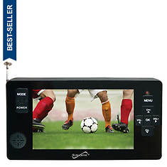 "SuperSonic 4.3"" Portable Digital LCD TV with USB/SD Inputs"