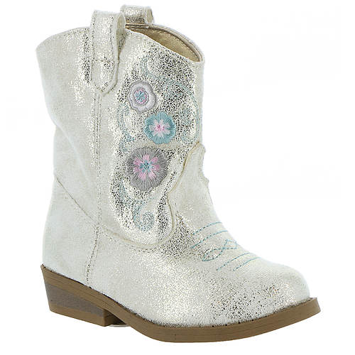 Baby Deer Western Boot w/Embroidery Toddler (Girls' Toddler)