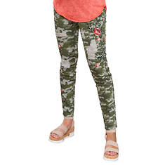 Embroidrered Camo Jean