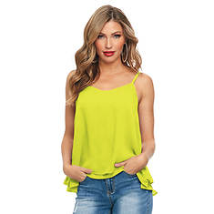 Double-Layer Chiffon Tank