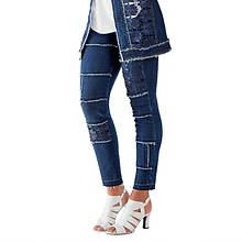 Lace Denim Jean