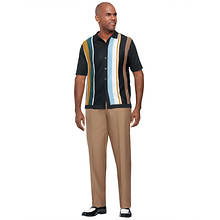 Stacy Adams Men's Stripe Blocked Walking Set
