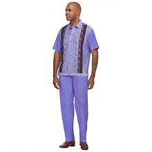 Stacy Adams Men's Knit Front Shirt Walking Set
