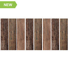 RoomMates Wood Plank Peel and Stick Wall Decals