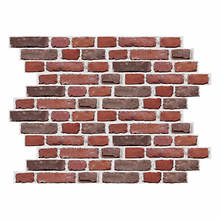 RoomMates White Brick Giant Peel and Stick Wall Decals