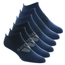 adidas Men's Superlite BoS 6-Pack No-Show Socks
