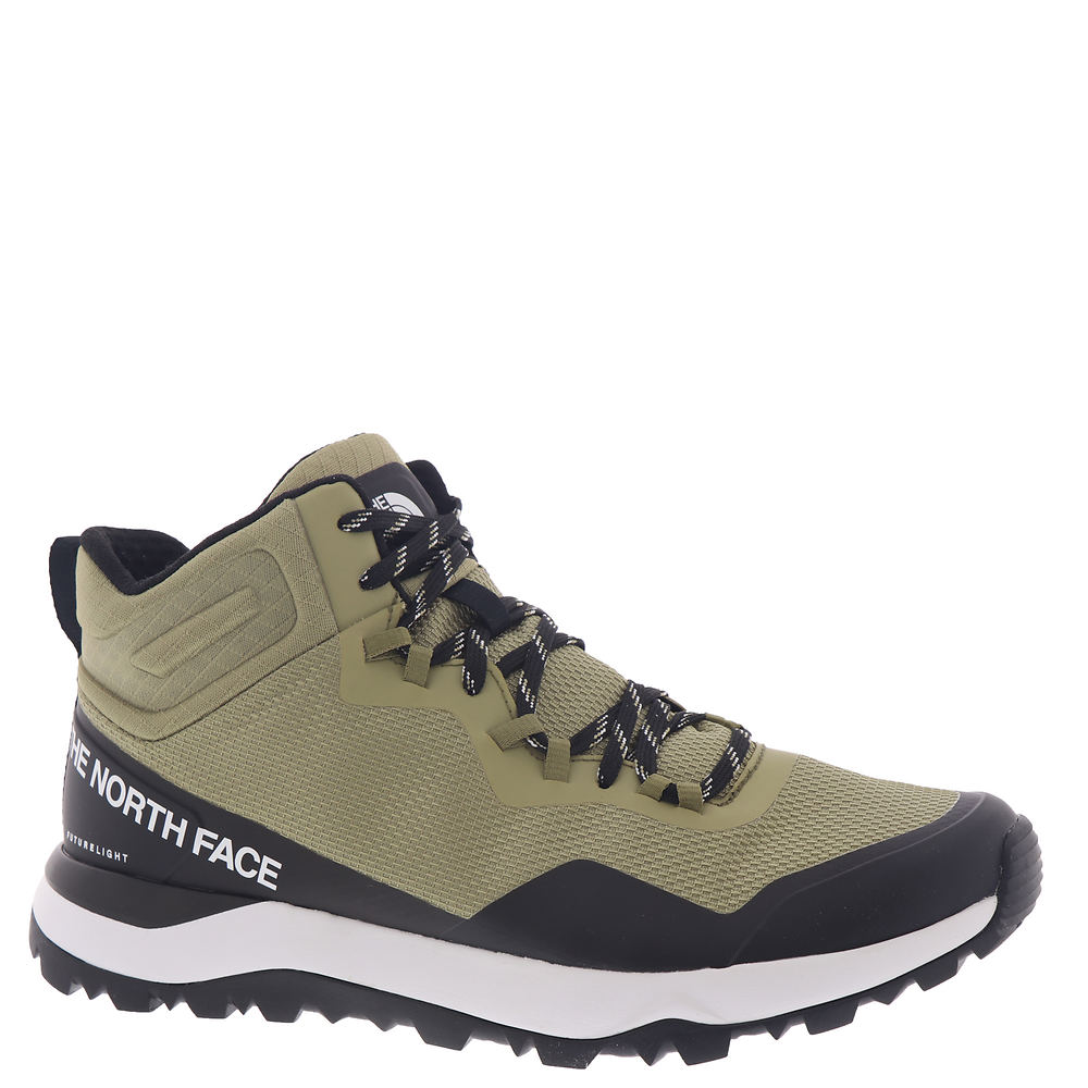 *Performance mesh upper with no-sew TPU overlays *Breathable and waterproof FUTURELIGHT™ membrane *Molded collar *Gusseted tongue *Integrated ghillie lacing system *Eco-friendly OrthoLite® Hybrid™ footbed *Single-density EVA midsole *Protective toe cap *Proprietary EXTS™ sole for traction