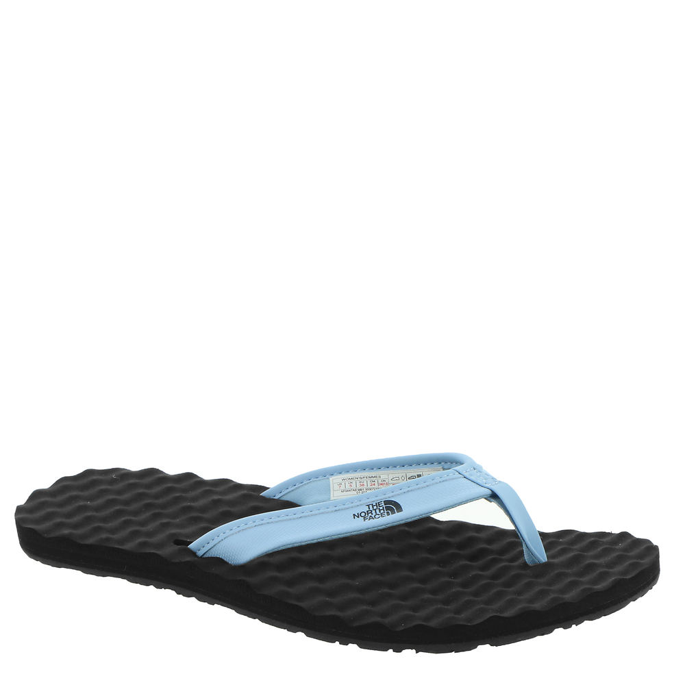 *Synthetic strap in a thong construction *Slip-on style *Textured compression-molded PU footbed with arch support for ultimate comfort *Lightweight tri-lug rubber outsole offers traction and durability *Available in whole sizes only half sizes please order the next size up