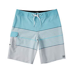 Billabong Men's All Day Heather Stripe Pro Short