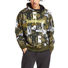 Timberland Men's Wild Camo AOP Hoodie Sweatshirt