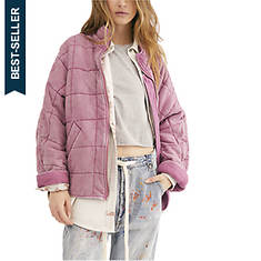 Free People Women's Dolman Quilted Knit Jacket