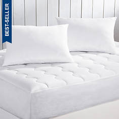 Serenity Mattress Pad & Pillow Pack Set