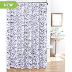 Floral Shower Curtain Set