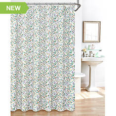Floral Shower Curtain Set