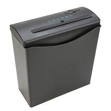 6-Sheet Shredder with Basket