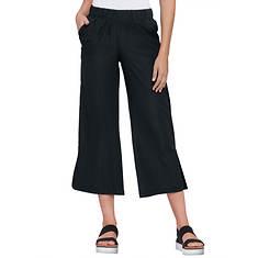 Wide-Leg Woven Pant