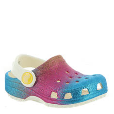 Crocs™ Classic Ombre Glitter Clog (Girls' Infant-Toddler-Youth)