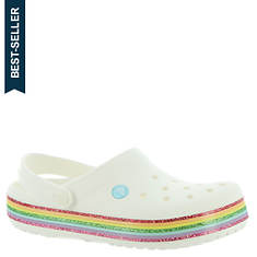 Crocs™ Crocband Rainbow Glitter Clog (Girls' Infant-Toddler-Youth)
