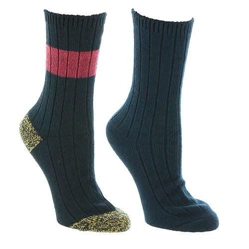 Steve Madden Women's SM45285 2PK Super Soft Boot Socks