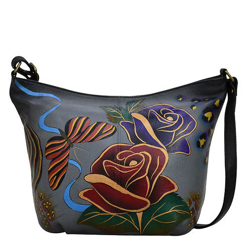 Anna by Anuschka Leather Medium Hobo