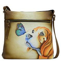 Anna by Anuschka Leather Large Crossbody