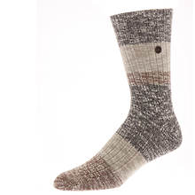 Birkenstock Men's Fashion Block Crew Socks
